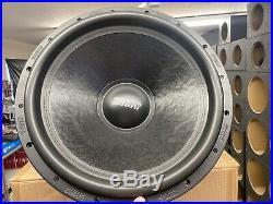 Sundown U18 18 inch D2 ohm subwoofer 1500 watts rms Car Audio