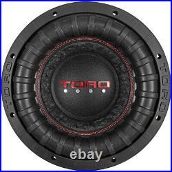 Toro Tech Audio Fierce10, 10 Inch 800 Watts RMS Dual 4 Ohm Car Subwoofer