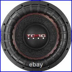 Toro Tech Audio Force 12S, 12 Inch 2000 Watts RMS Dual 2 Ohm SPL Car Subwoofer