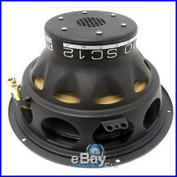 ULTIMO TiSC 124 MOREL 12 SUB CAR AUDIO 4 OHM SVC SUBWOOFER BASS SPEAKER NEW