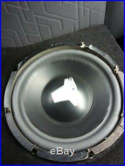 Used JL Audio 10w6v1 Dual 6 Ohm 10 inch Old School/Vintage 90's Subwoofer #1