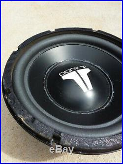 Used JL Audio 10w6v1 Dual 6 Ohm 10 inch Old School/Vintage 90's Subwoofer #2