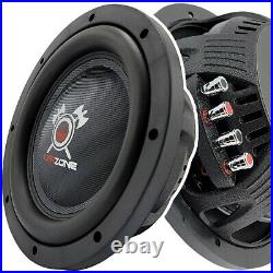 Warzone 12 Inch 1500 Watt Car Audio Shallow Subwoofer with 4 Ohm DVC Power (One)