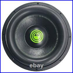 Warzone G7 15 Inch 4800 Watts Car Audio Subwoofer with 2 Ohm DVC Power (1 Woofer)